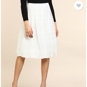 NWT Forever 21 lace skirt XS
